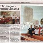 """L'eco sulla stampa svedese del """"Cristo nel labirinto"""" di Alatri e della spedizione italiana nel Dalsland (Svezia)"""