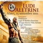 TORNA LA POTENZA DELL'IMPERO ROMANO! 23 settembre 2012, ad Alatri (FR) rievocazione storica dei LUDI ALETRINI