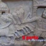 A 20 anni dal furto il sarcofago delle quadrighe torna ad Aquino