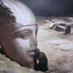 La Guardia di Finanza di Roma recupera una sfinge egizia che stava per essere portata all' estero