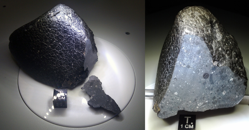 Meteorite NWA 7034 - Foto Meteorical Society
