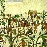 Re Artù nel mosaico di Fra Pantaleone a Otranto