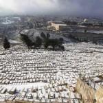 Incredibile nevicata a Gerusalemme ed in altre regioni di Israele!.