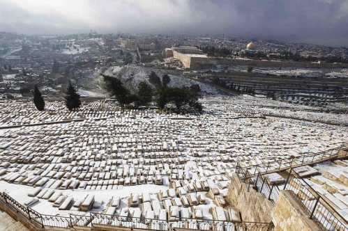 new_Gerusalemme sotto la neve - 10-01-2013