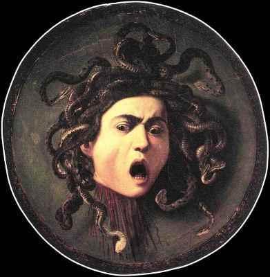 new_Una delle versioni della Gorgone o Medusa del Caravaggio