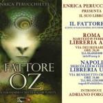 Presentazione del libro IL FATTORE OZ a ROMA e NAPOLI. Con Enrica Perucchietti e Adriano Forgione