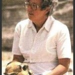 Cent'anni fa nasceva la grande archeologa e paleontologa Mary Leakey (6 febbraio 1913 – 9 dicembre 1996).