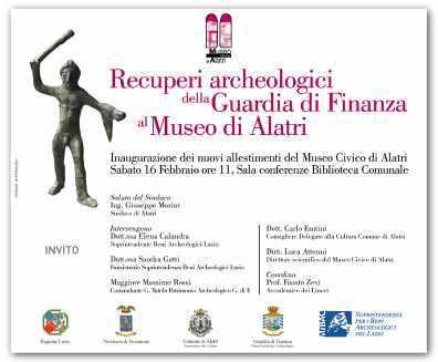 new_Inaugurazione nuovo allestimento Museo di Alatri