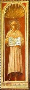new_Jacopone da Todi - affresco di Paolo Uccello 1435-36 Cappella dell'Assunta Duomo di Prato