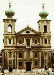 new_La seicentesca chiesa di S Ignazio costruita dai Gesuiti a Gorizia
