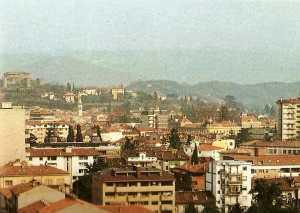 new_Veduta di Gorizia e del suo castello nell anno del Terremoto del Friuli
