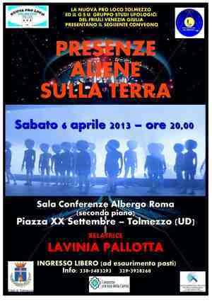 new_Locandina Lavinia Pallotta - Tolmezzo 6 aprile 2013