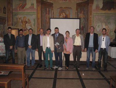 new_26 Foto di gruppo dei relatori con il sindaco Agostini