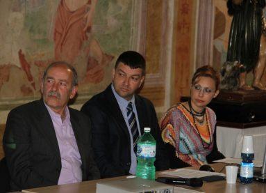 new_8 Il sindaco Augusto Agostini - G Pavat e Serena Pallone