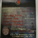 """Domenica 19 maggio, ore 16.00, convegno """"I MISTERI DI ACUTO"""", chiesa SS. Sebastiano e Rocco, Acuto (FR)."""