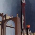 """Esposta sino al 26 maggio 2013, presso Museo Civico Rocca Flea di Gualdo Tadino (PG), la mostra  """"Paola De Rosa. Via Crucis d'Invenzione""""."""