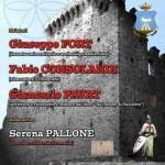 """SABATO 3 AGOSTO 2013, ore 16.00, nel CASTELLO DI TREVI NEL LAZIO (FR), convegno """"IL CASTELLO DEI TEMPLARI""""!"""