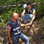 """Operazione """"Giunone"""" della Guardia di Finanza, a Lanuvio sventato saccheggio di un sito archeologico finora sconosciuto ai mappali della Soprintendenza"""