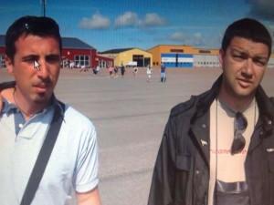 new_Marco Di Donato e Pavat in un frame del documentario sulla spedizione in Svezia del 2011