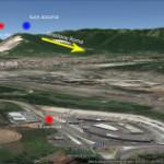 Automobilista avvista misteriose luci rosse e azzurre sopra Segni e Colleferro (RM). Si tratta di Ufo?
