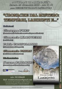 Locandina convegno Arcinazzo 28-12-13