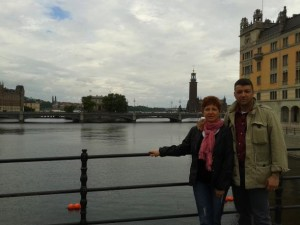 new_11 Sonia Palombo e Giancarlo Pavat a Stoccolma