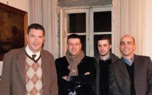 new_15 Pio Roffi Isabelli- G Pavat - F Consolandi e Paolo Ruggeri