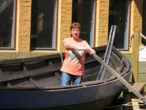 new_2 ricostruzione di barca vikinga all Historiska Museet