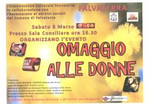 Evento Falvaterra 8-03-2014