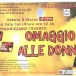 """8 marzo 2014, ore 16.30 a Falvaterra (FR): nell'ambito dell'evento """"Omaggio alle donne""""; """"Incontro con l'autore"""": Gianni Martini intervisterà Giancarlo Pavat."""