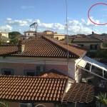 Esclusivo!! Oggetto volante fotografato nel cielo di Torpignattara  – Roma.