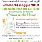 """Sabato 24 maggio 2014, ore  17.00, presso Museo Preistorico di Pofi (FR) presentazione del libro """"C'era una volta Homo""""."""