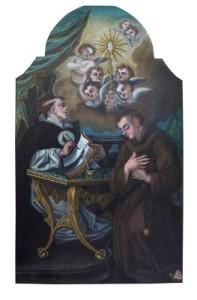 Aquino - Pala Altare XVII sec