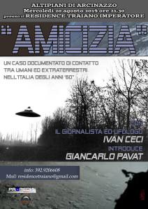 Conferenza sul caso Amicizia - Locandina 20-8-14
