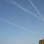 Scie chimiche nel cielo sopra Frosinone?