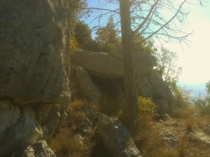 12 Dolmen di monte S Casto