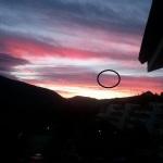 Ceccano (FR): DUE UFO FOTOGRAFATI LO SCORSO OTTOBRE SOPRA I MONTI LEPINI.