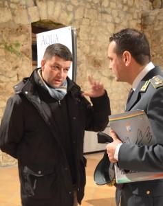 2 Giancarlo Pavat a colloquio con il T Col Rossi 13-12-14