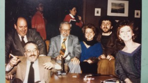 Foto  1 con Hinek, 13 Marzo 1984