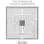 Il massimo esperto mondiale di labirinti, Jeff Saward, in visita al Cristo nel Labirinto di Alatri.