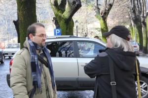 2 Giulio Coluzzi con Jeff Saward-foto M DiDonato