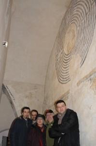 3 Di Donato-Coluzzi- Kimberly e Jeff Saward e Pavat ncon il Cristo nel labirinto-fotoDi DonatoI