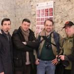 """JEFF SAWARD IN VISITA AL """"CRISTO NEL LABIRINTO"""" DI ALATRI (FR)."""