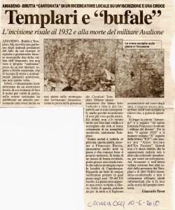 Templari e bufale - CiociariaOggi 10-06-2010