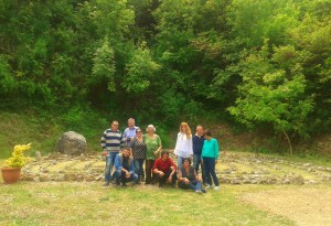 10 alcuni partecipanti alla VII Giornata e il Labirinto di Falvaterra