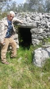 Altra struttura megalitica sulle colline di Alatri