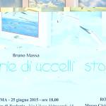 """Giovedì 25 giugno 2015 c/o Museo di Zoologia di Roma: presentazione del libro """"Storie di uccelli"""" di Bruno Massa."""