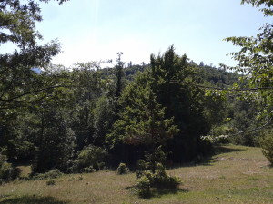 Panorama dei Monti Ernici.