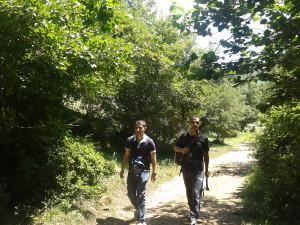 Escursione lungo i sentieri