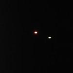 Segnalazione di una luce sospetta nel cielo di Napoli.